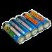 Хлопушка с конфетти (5 шт.) мини * ТСЗ набор