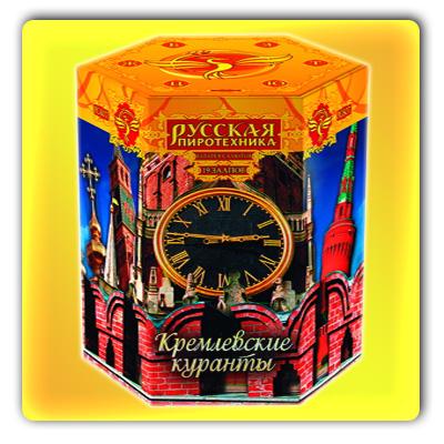 """Кремлёвские куранты (1,2"""" x 19 зарядов) * фейерверк"""