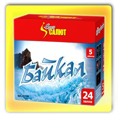 """Байкал (1,1"""" x 24 зарядов) * фейерверк"""