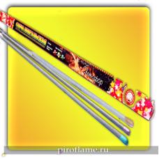 Бенгальская свеча 650 мм.  (3 шт.) Светофор *  УПЗ набор