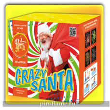 "Crazy Санта (1"" x 20 зарядов) * фейерверк"