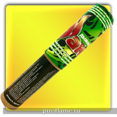 Факел дымовой, шашка дымовая (зеленый) * УПЗ фальшфейер